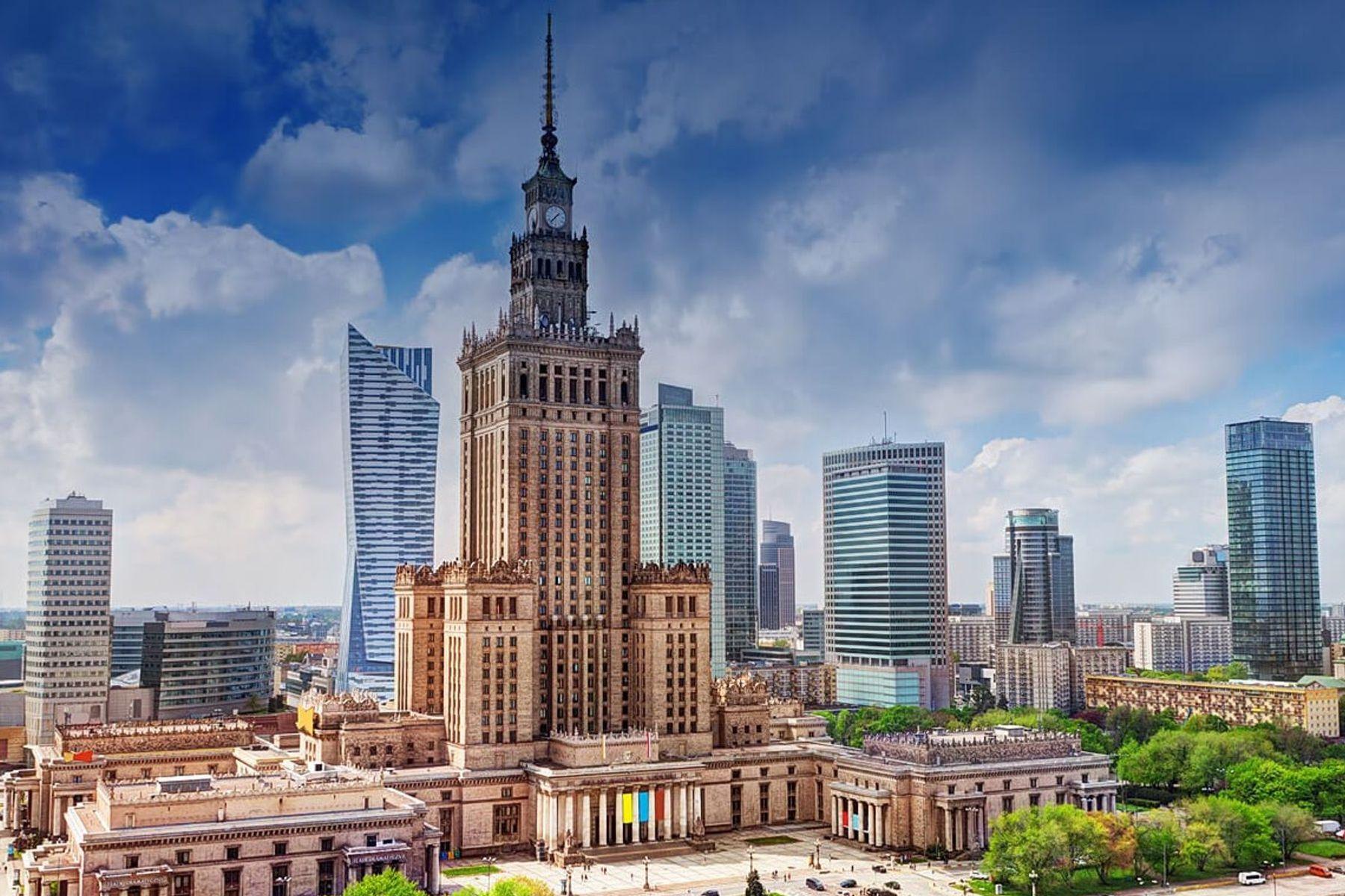 Warschau-Skyline